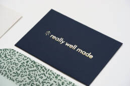 Really Well Made Hot Foil Printing